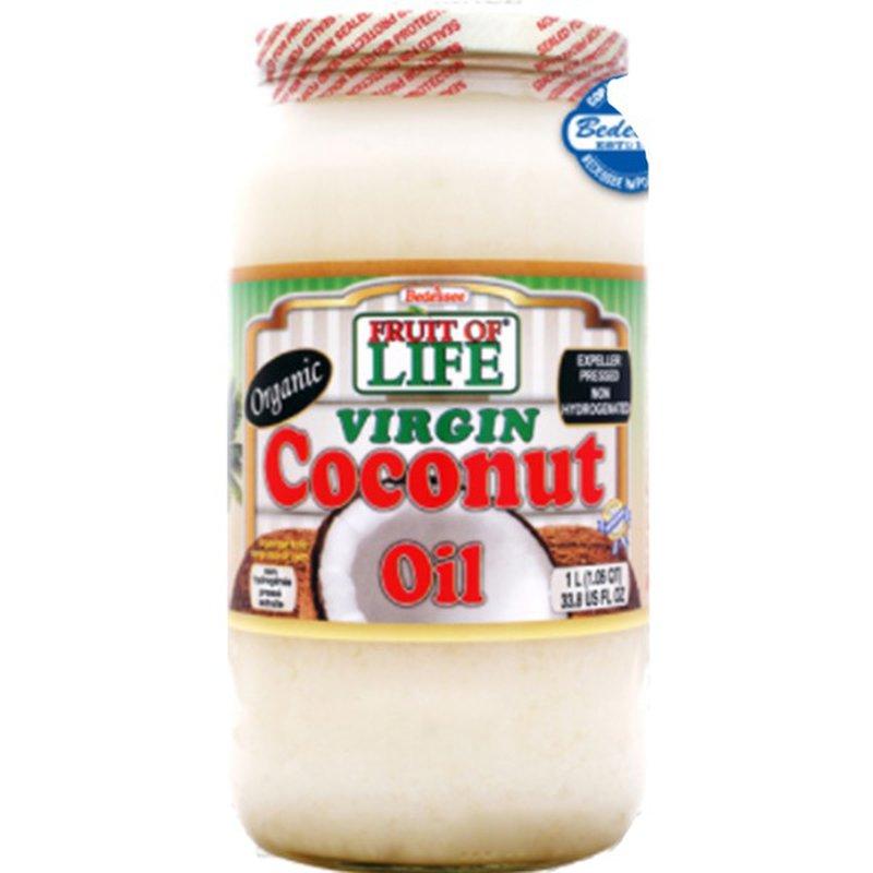 Fruit Of Life Organic Virgin Coconut Oil