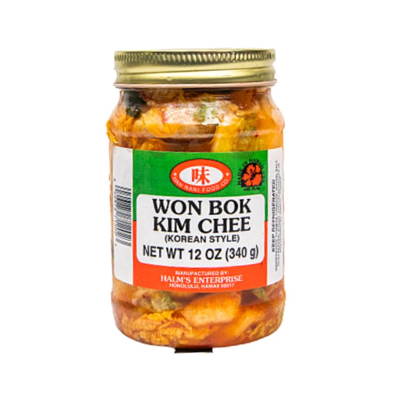 Man Nani Food Co. Won Bok Kim Chee