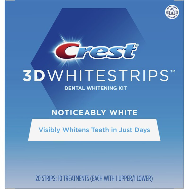 Crest Noticeably White Whitestrips Teeth Whitening Kit