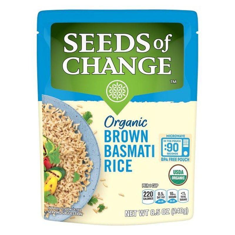 Seeds of Change Organic Brown Basmati Rice