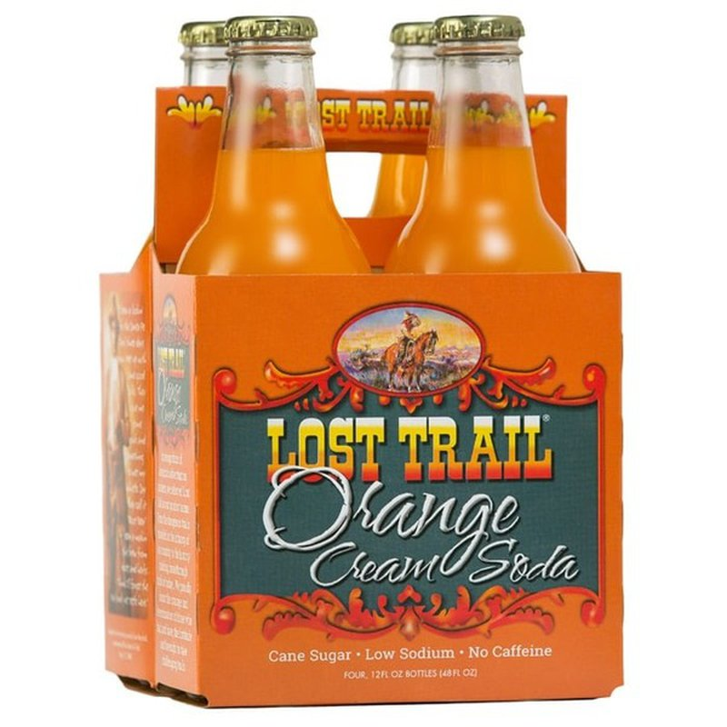Lost Trail Soda Orange Cream Soda