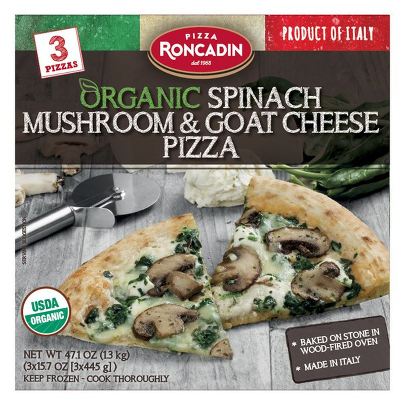 Roncadin Spinach & Goat Cheese Pizza