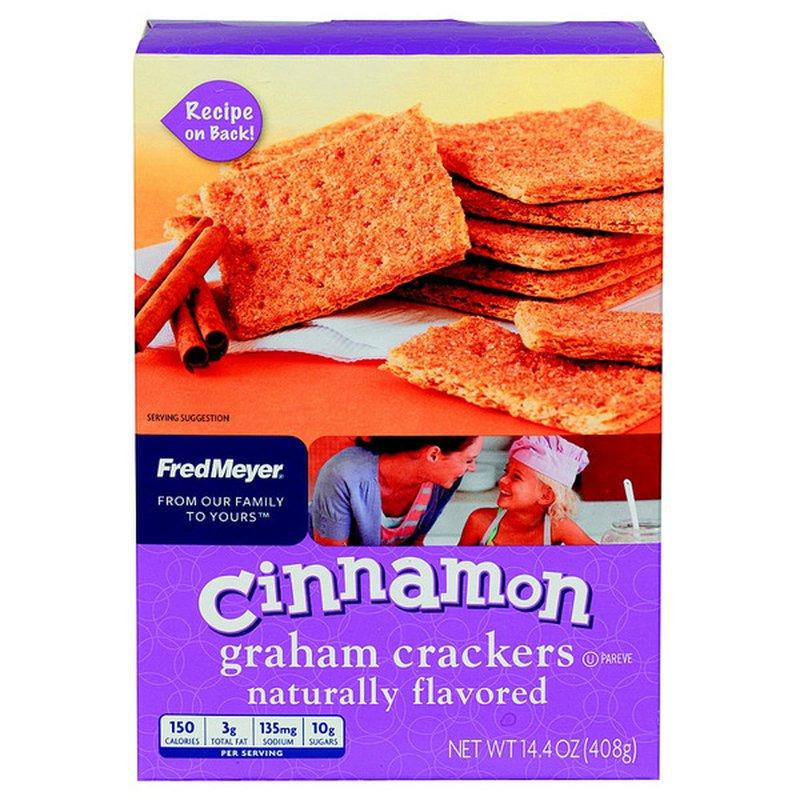 Fred Meyer Cinnamon Graham Crackers