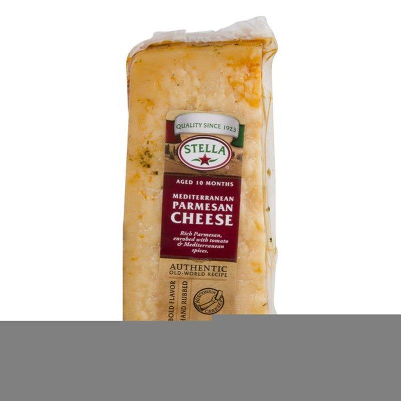 stella cheese mediterranean parmesan 8 oz  instacart