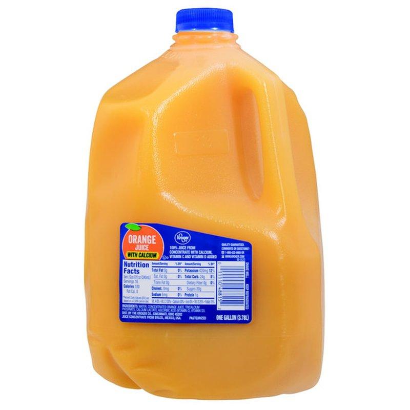 Kroger Orange Juice