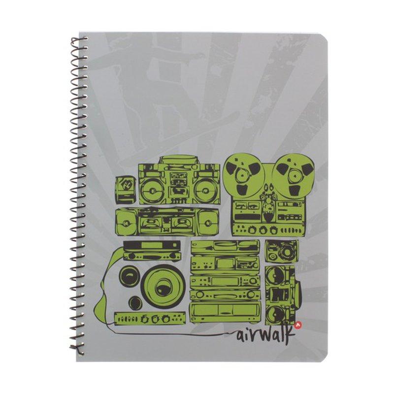 Top Flight Air Tricks 1 Subject Notebook 80 Sheets