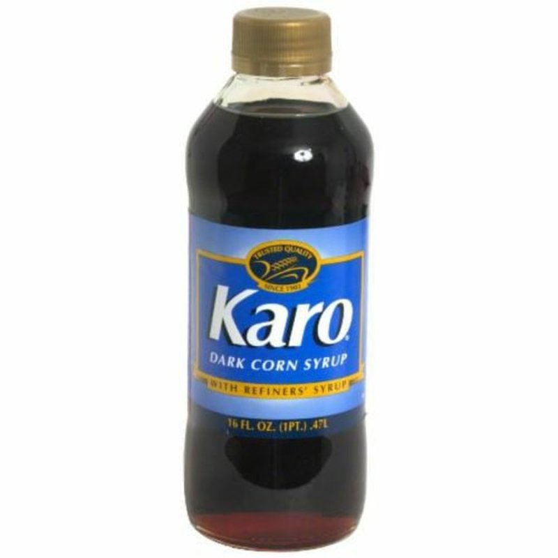 Karo Dark Corn Syrup1 With Refiners' Syrup