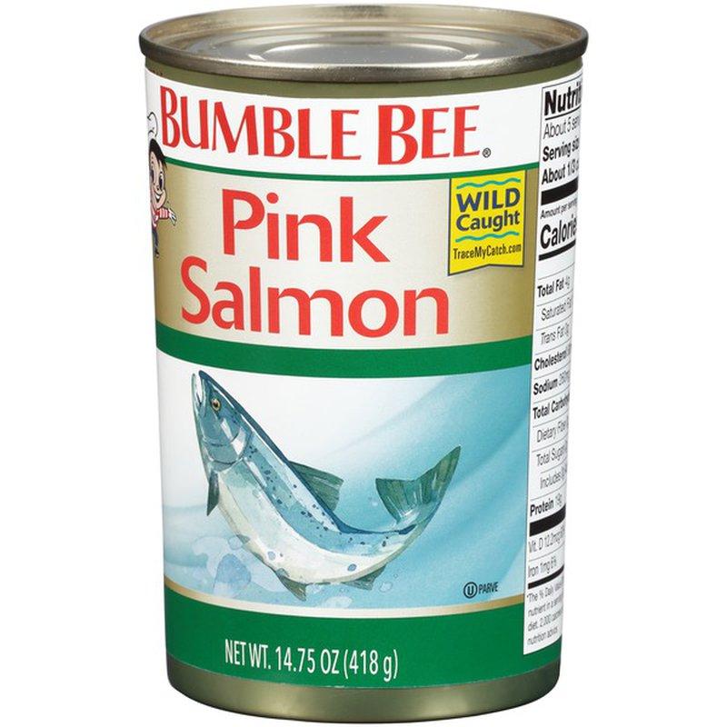 Bumble Bee Pink Salmon