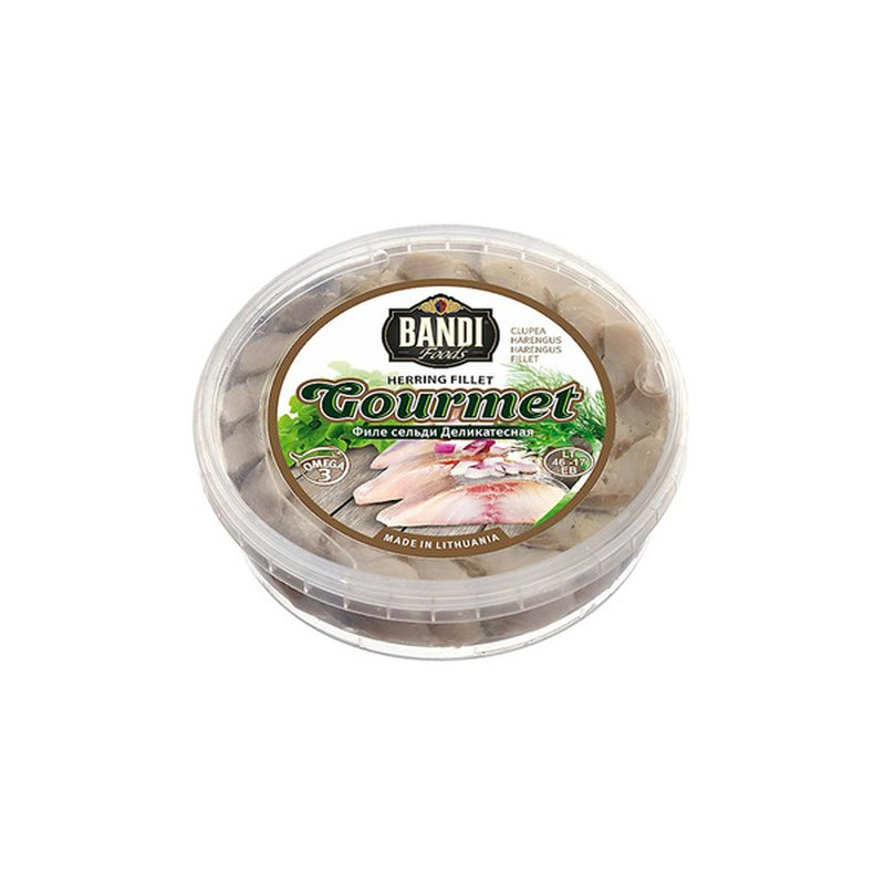 Bandi Foods Gourmet Herring Fillet In Oil