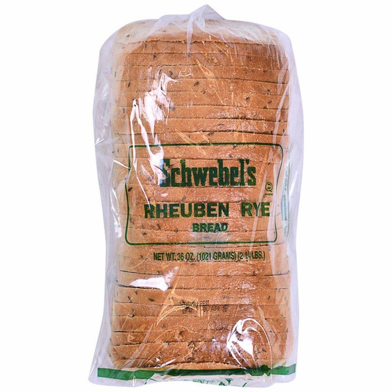 Schwebel's Rheuben Rye Bread