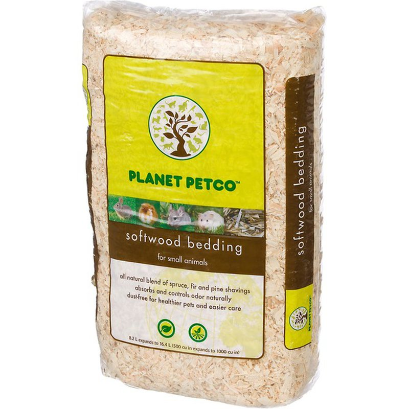 Planet Petco Softwood Bedding for Small Animals