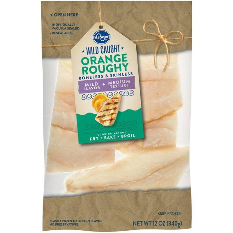 Kroger Wild Caught Boneless & Skinless Orange Roughy