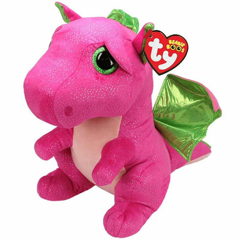 Ty Extra Large Darla the Pink Dragon Plush Toy