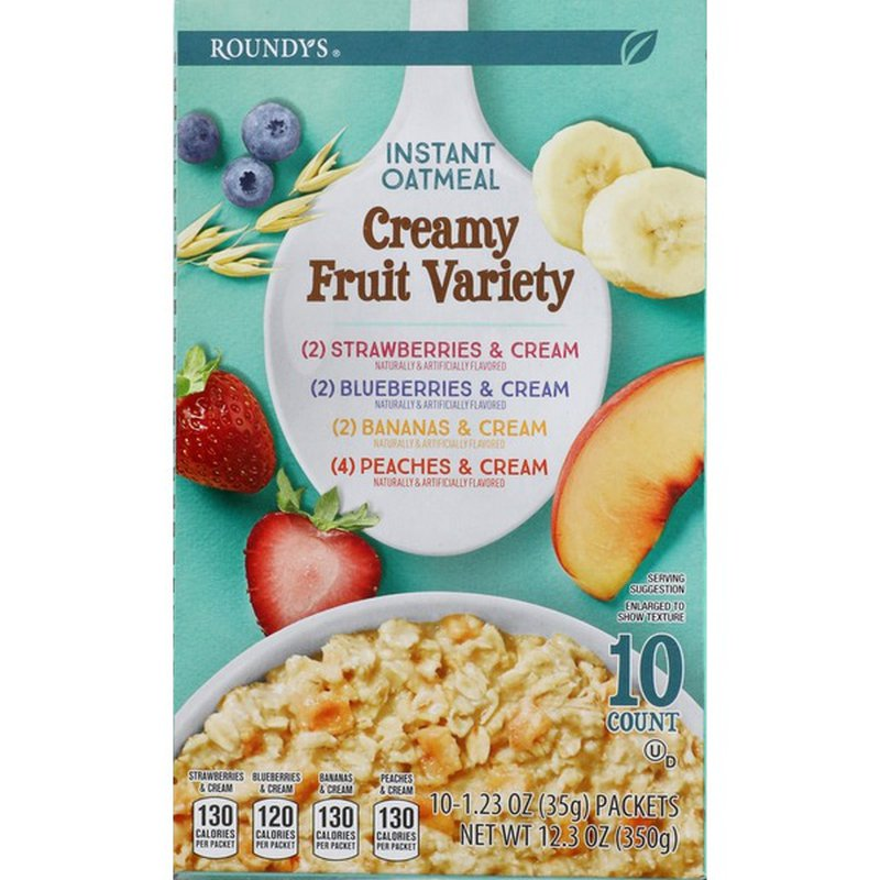 Roundy's Instant Oatmeal