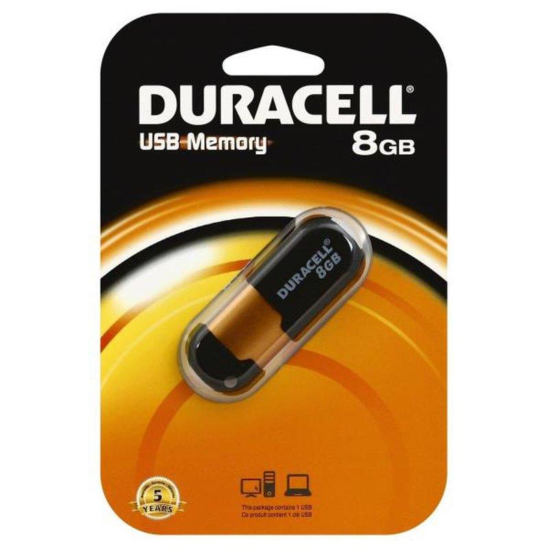 Duracell USB  Memory, 8 Gb