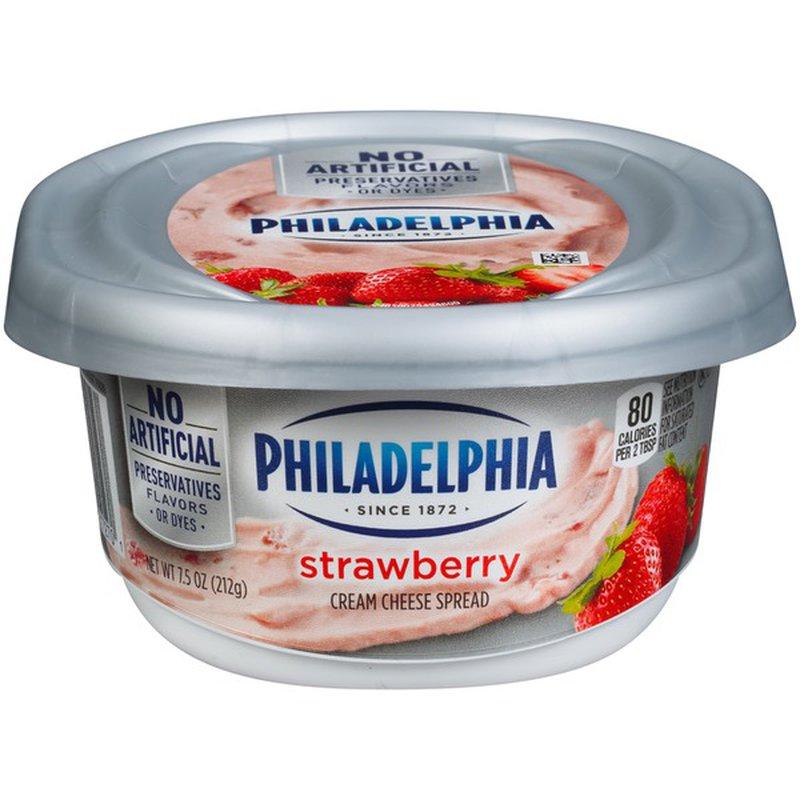 Kraft Philadelphia Strawberry Cream Cheese (212 g) from ...