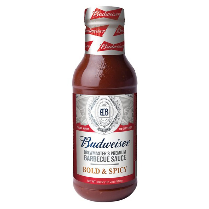 Budweiser Bold & Spicy Sauce Barbecue