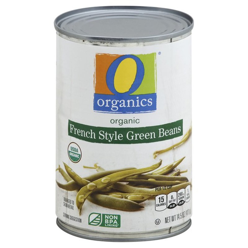 O Organics French Style Green Beans