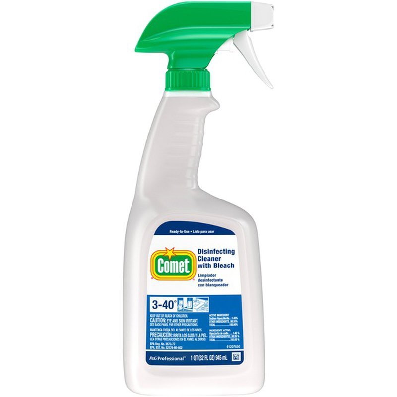 Comet Professional Disinfecting Liquid Cleaner With Bleach 32 Fl Oz Instacart