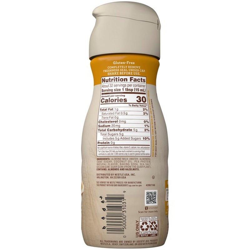Nestlé Coffee Mate Almond Milk Hazelnut All-Natural Liquid Coffee Creamer (1 pt) - Instacart