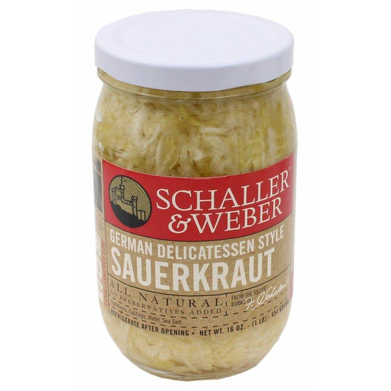 Schaller & Weber Sauerkraut