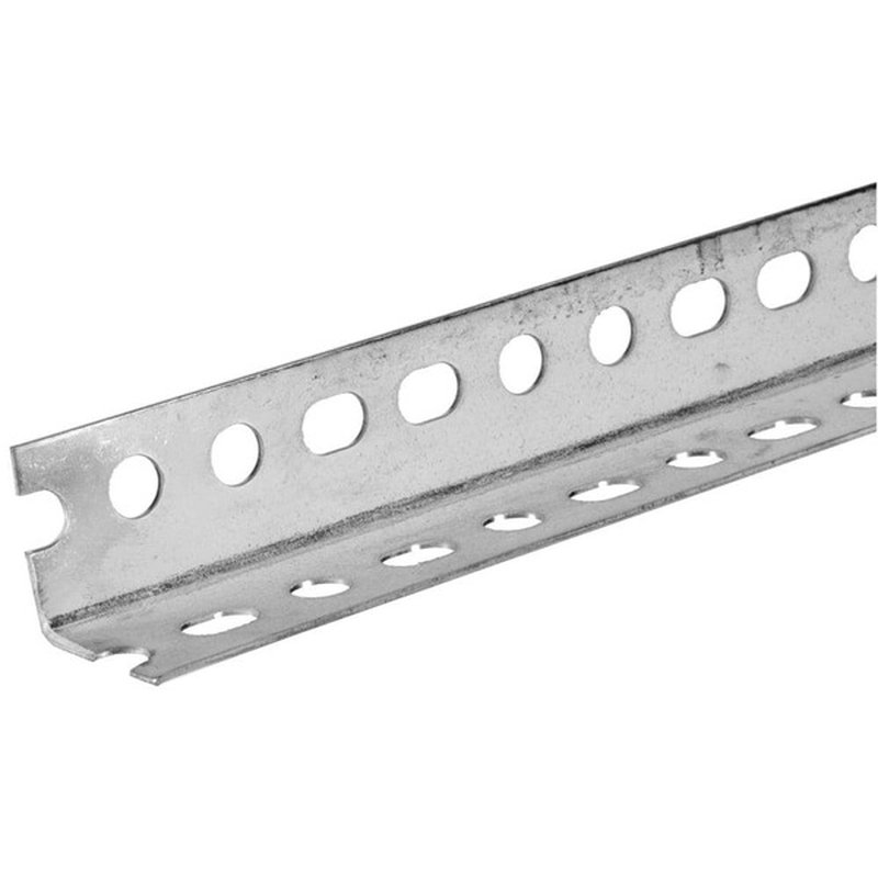 """Boltmaster 1 1/2"""" x 1 1/2"""" x 5' Plated Steel Slotted Angle"""