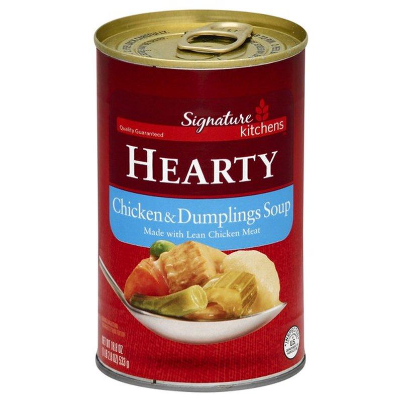 Signature Select Chicken & Dumpling Hearty Soup