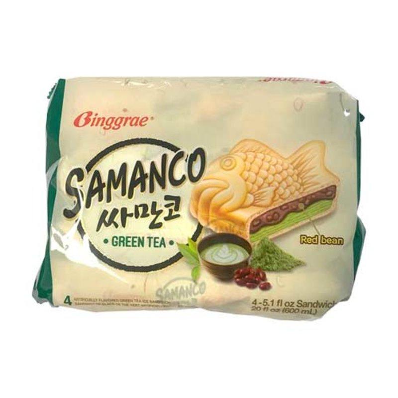 Binggrae Samanco Green Tea Ice Cream Treats