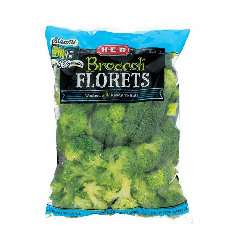 H-E-B Broccoli FLORETS