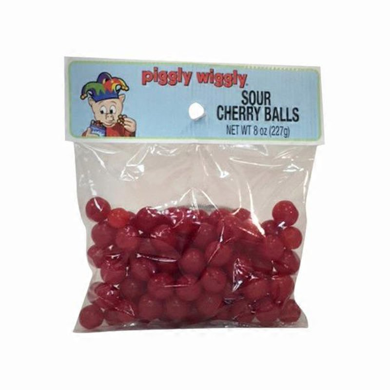 Piggly Wiggly Candy Sour Cherry Balls 8 Oz Instacart