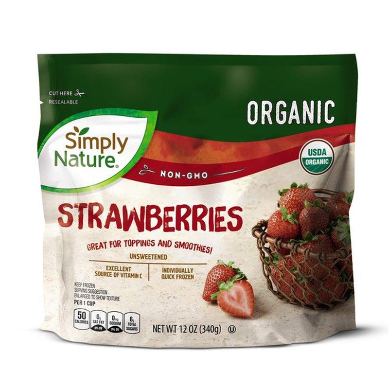 Simply Nature Frozen Organic Strawberries