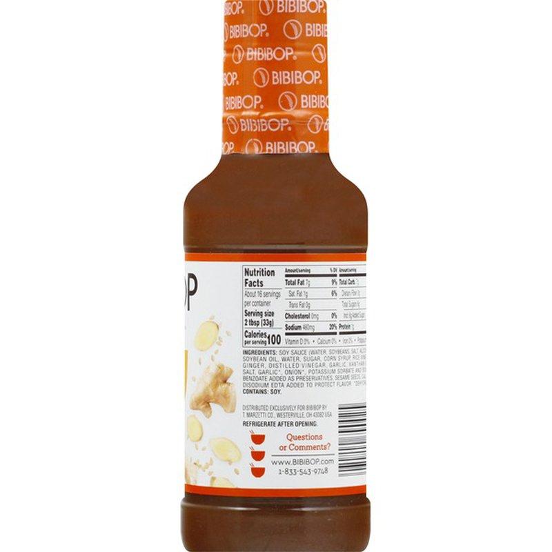 Bibibop Sauce Sesame Ginger Teriyaki 16 Oz Instacart