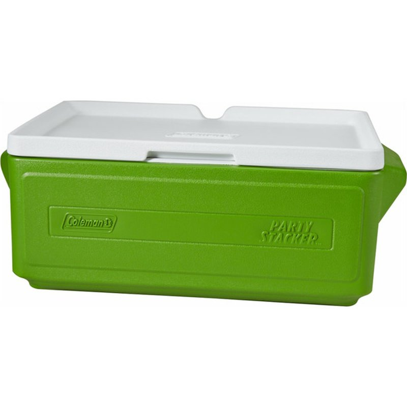 Coleman 24 Can Party Stacker Cooler - Green