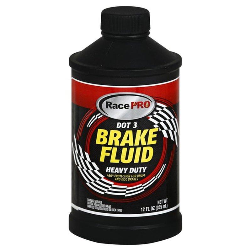 Race Pro Brake Fluid, DOT 3, Heavy Duty