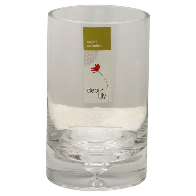Debi Lilly Illusion Collection Medium Floral Vase