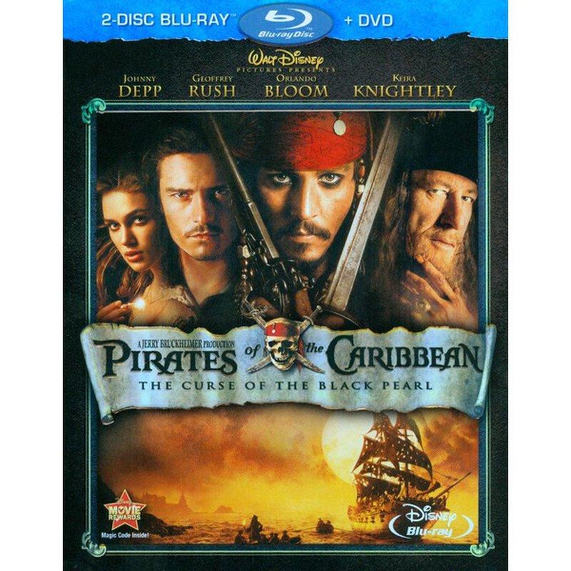 Walt Disney Video Pirates of The Caribbean Assorted Blu-ray DVD