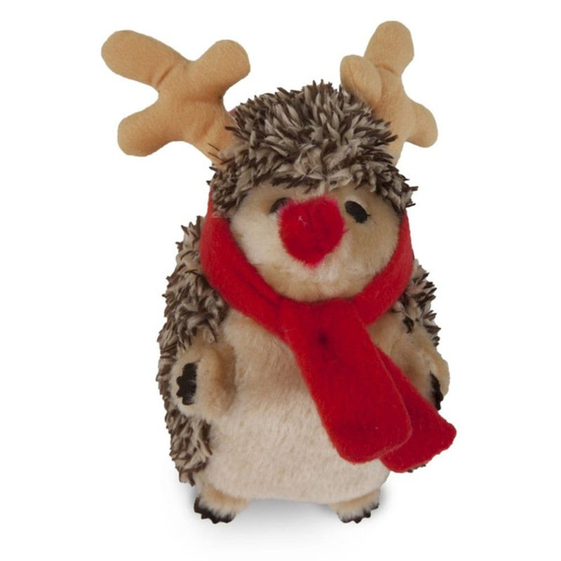 Petmate Hedgehog Reindeer Dog Toy
