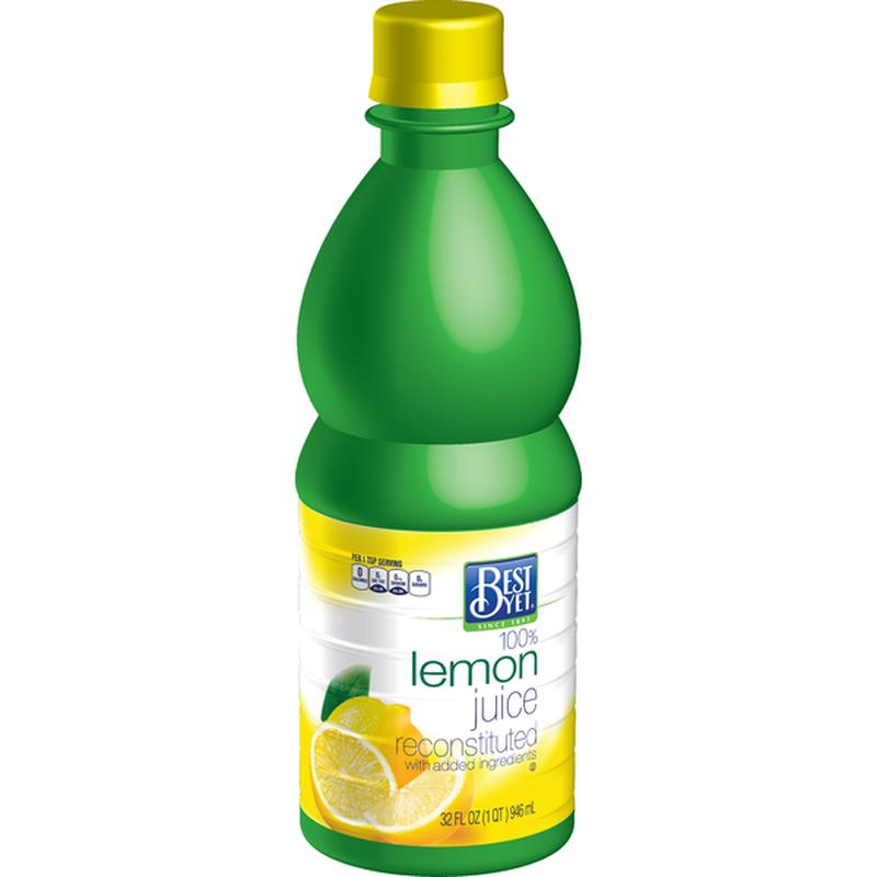 Best Yet Lemon Juice