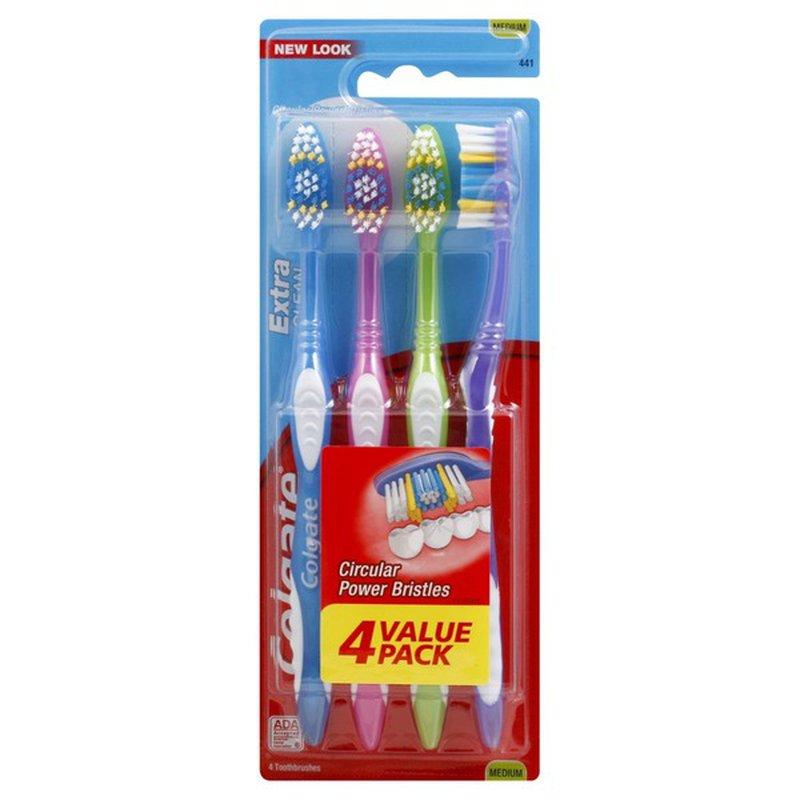 Colgate Circular Power Bristles Toothbrushes Medium