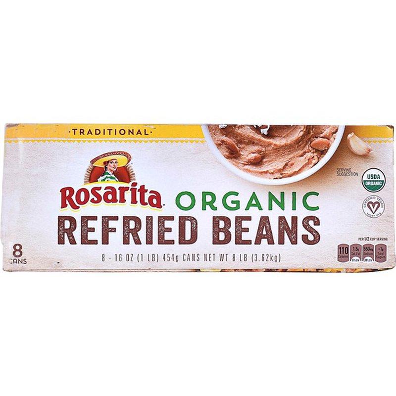 Rosarita Organic Refried Beans