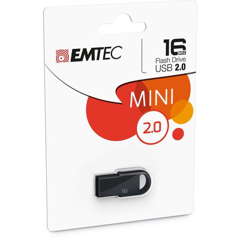 Emtec Blue Nano Pop 16 Gb Usb Flash Drive
