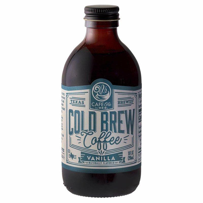 H-E-B Cafe Ole Vanilla Cold Brew Coffee