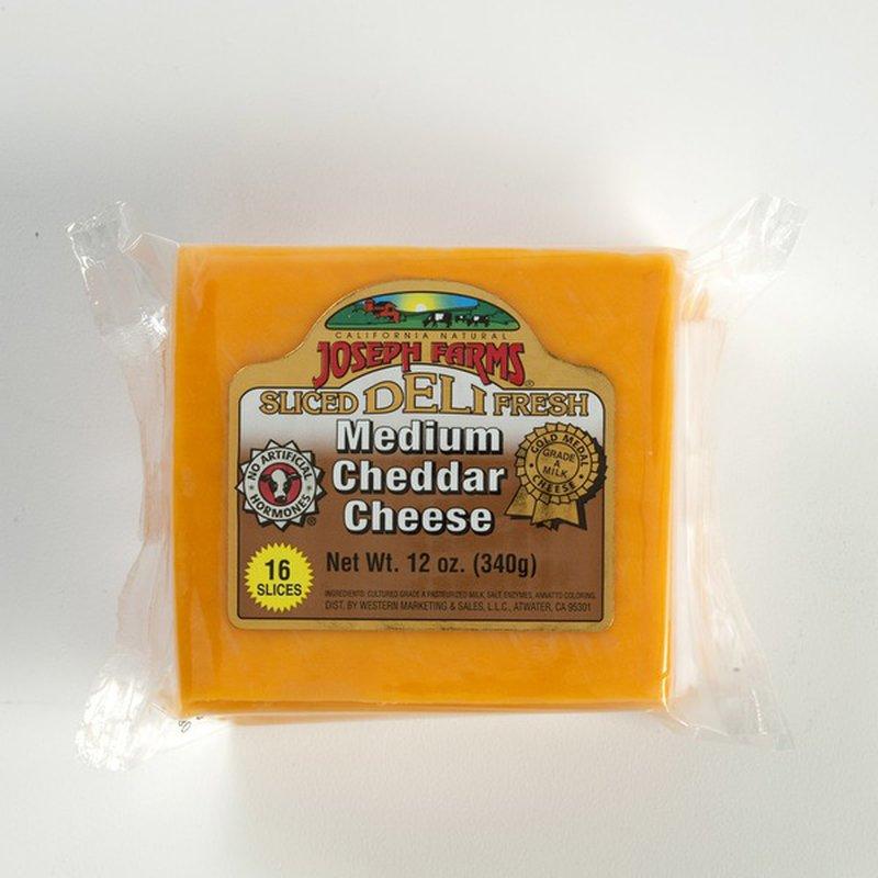 Joseph Farms Medium Cheddar Cheese