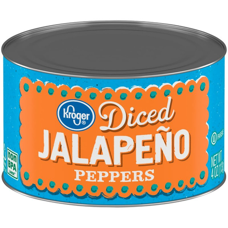 Kroger Diced Jalapeno Peppers
