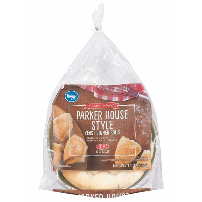 Kroger Parker House Style Yeast Dinner Rolls 14 Oz From Kroger