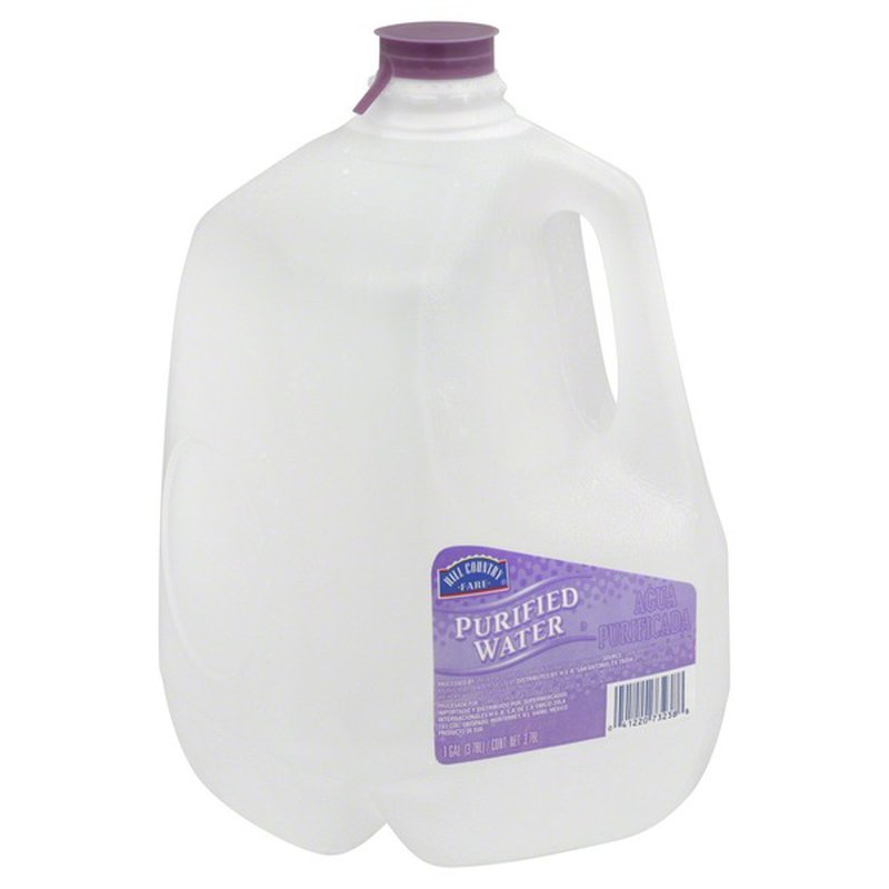Hill Country Fare Purified Water