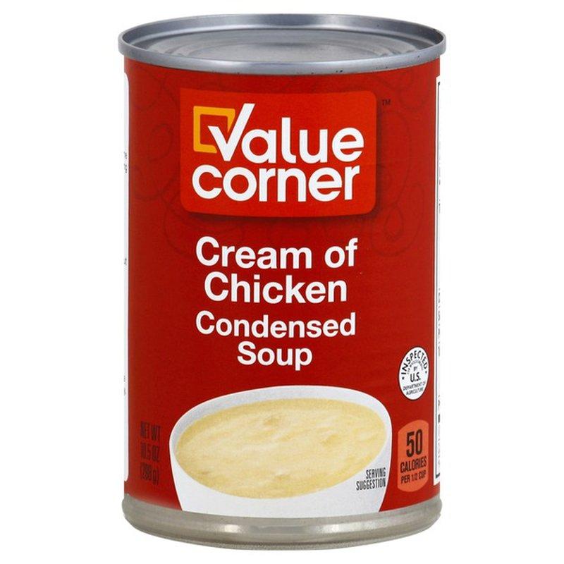 Value Corner Cream Of Chicken Condensed Soup