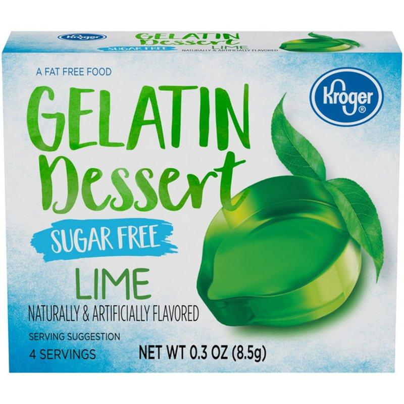 Kroger Sugar Free Gelatin Dessert