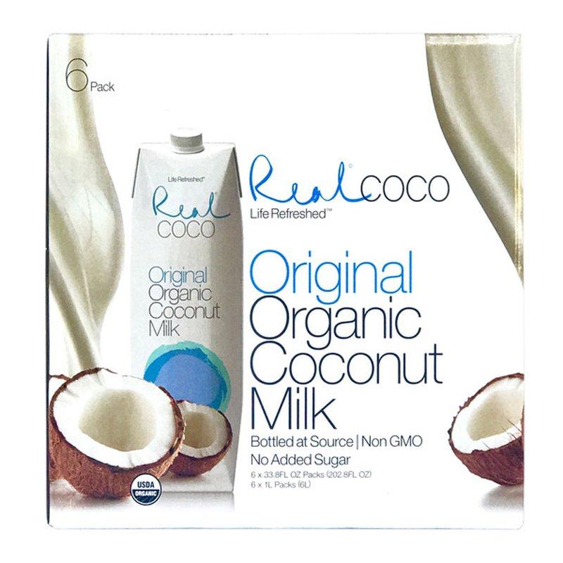 Coco Real Organic Original Coconut Milk