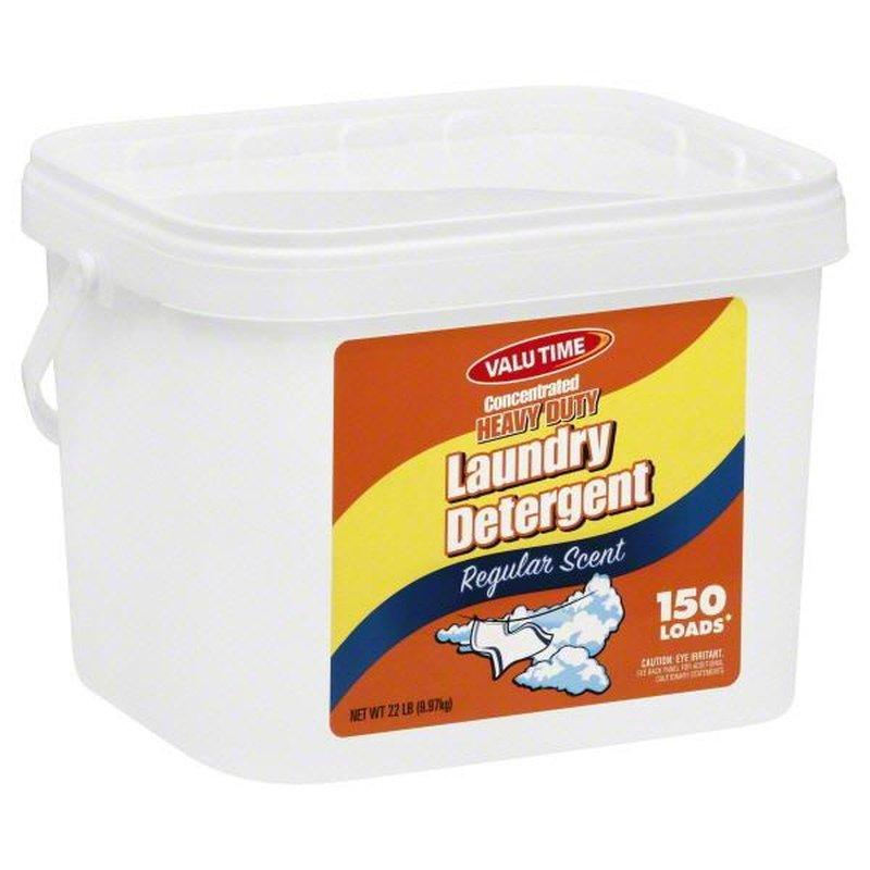 Valu Time Laundry Detergent